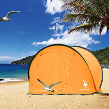 Outdoor Camping Hiking Large Dome Pop Up Tent Quick Instant Beach Shelter Sale