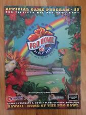 AFC vs NFC PRO BOWL February 6 2000 Program RANDY MOSS MVP