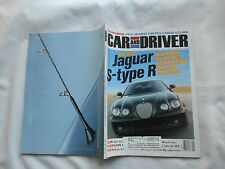 CAR AND DRIVER---MAY,2002---MAGAZINE-JAGUAR S-TYPE R