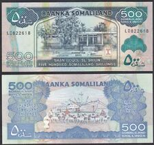 Somaliland 2011 Five Hundred 500 shillings UNC