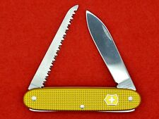 SWISS ARMY KNIFE - VICTORINOX PIONEER WOODSMAN BUGNARD - ALOX YELLOW