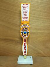 """Newcastle New Castle Brown Ale Beer Tap Handle Super Tall 14.25"""" NEW & F/Shipn."""
