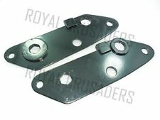 ROYAL ENFIELD NEW REAR ENGINE PLATES 350CC(PAIR) (code 1846)
