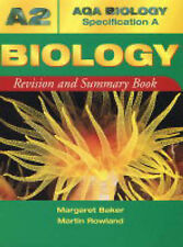 AQA (A) A2 Biology Revision and Summary Book (AQA Biology Specification A) By M