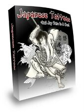 E BOOK SALE - DAZZLING JAPANESE & TRIBAL TATTOOS ON CD