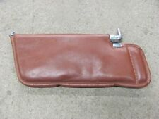 1981 81 Corvette Cinnabar Sunvisor With Telescopic Mount Original No Rips