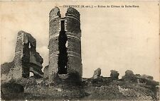 CPA Champtoce (M.-et-L.) - Ruines du Chateau de Barbe-Bleue (253908)
