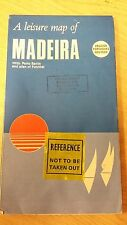 A Leisure Map Of Madeira: Map (M15)