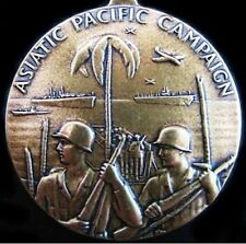 WW2 U.S. ASIATIC PACIFIC CAMPAIGN MEDAL AWARDED FOR FIGHTING JAPANESE FORCES (0)