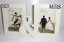 MR & MRS White Photoframe