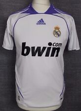 VINTAGE REAL MADRID HOME FOOTBALL SHIRT 06-07 ADIDAS RARE YOUTHS 32/34""