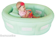 Room To Grow BATHINET Pen Bath Tub Bassinet Feeding Chair Inflatable 4 in1 14200