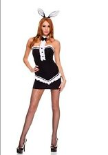 Ladies Sexy Hot Hostess Bunny Girl Style Bunny Rabbit Costume Fancy Dress