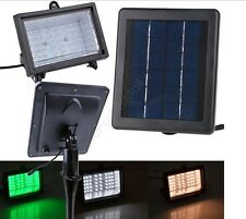 LED Solar Power Garden Light Outdoor Lamp Pathway Yard Spot Flood Lights Lawn UK