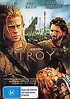 TROY DVD Brad Pitt Eric Bana Orlando Bloom EPIC ADVENTURE ACTION (Sealed) R4