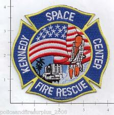 Florida - NASA Kennedy Space Center FL Fire Rescue Fire Dept Patch v1