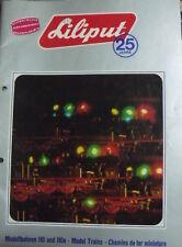 Catalogo Treni LILIPUT in H0 anno 1972-73 - ENG DEU FRA - Tr.2