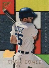 Chris Gomez 1996 Topps Gallery Players Private Issue SN 240 Detroit Tigers