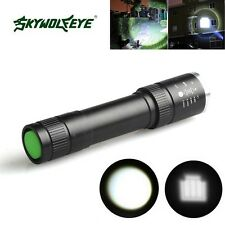Compact 5000Lumen Zoomable CREE XML T6 LED 18650 Flashlight Torch Lamp Light
