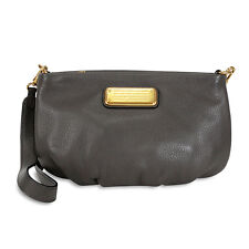 Marc by Marc Jacobs Q Percy Faded Aluminum Grey Crossbody