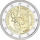 FINLAND II 2016 - 2 euromunt - Georg Henrik von Wright filosoof/philosophe -UNC
