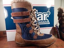 $175 Pajar Canada Aventure Low Womens Waterproof Winter boots size 39 7.5-8 NWB