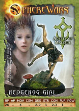 Sphere Wars Hedgehog Girl Adepts of Malesur Malesur metal miniature new
