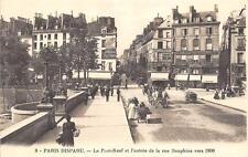 CPA 75 PARIS DISPARU LE PONT NEUF ET L'ENTREE DE LA RUE DAUPHINE