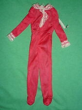Barbie Vintage 1975 Fashion ~#7203 Best Buy Fashion Red Sleepsuit