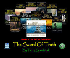 The Complete Original SWORD OF TRUTH Series Terry Goodkind MP3 CD 12 Disc Set