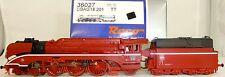 locomotora de vapor BR 18 201 ROJO Roco 36027 nuevo emb. orig. TT 1:120 HL4 µ