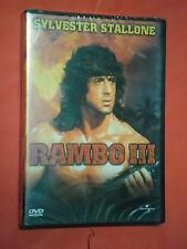 DVD  FILM- RAMBO III-  CON SYLVESTER STALLONE- SIGILLATO