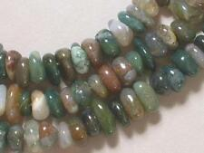 "Gemstone Indian Agate 8-10mm Loose Chip Beads 7.5"" Strand"