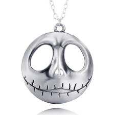 Hot Sale The Nightmare Before Christmas Pumpkin Prince Jack Face Necklace ZYC