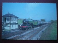POSTCARD CLASS A3 LOCO NO 4472 FLYING SCOTSMAN AT SETTLE JUNCTION