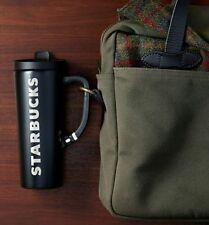 Starbucks Stainless Steel Clip Tumbler/Black/16 fl oz