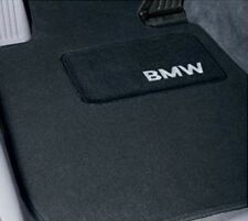 BMW FACTORY BLACK CARPET FLOOR MATS E46 3 SERIES 2000-2005 82111470424