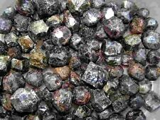 Garnet pyrope natural crystals bigger 1/2-1 inch  Madagascar 1/4 pound