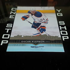 2014 15 UD YOUNG GUNS 224 OSCAR KLEFBOM RC MINT +FREE COMBINED S&H
