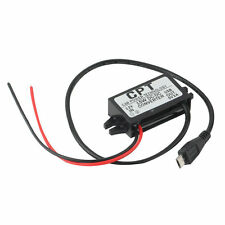 Car Charger DC Converter Module 12V To 5V 3A 15W with Micro USB Cable New UL