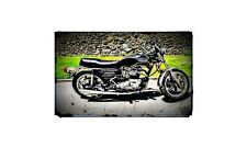 1979 bonneville special Bike Motorcycle A4 Retro Metal Sign Aluminium