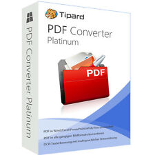 PDF Converter Platinum Tipard dt.Vollversion-lebenslange Lizenz ESD Download