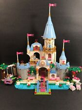 LEGO DISNEY PRINCESS 41055 CINDERELLA'S ROMANTIC CASTLE SET OPENED WITH BOX RARE