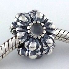 Authentic Pandora Birthday Blooms June Sterling Silver Charm Bead 790580MSG New
