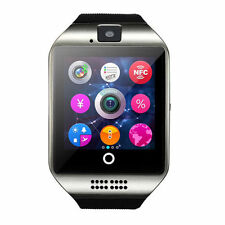 APRO-Arc Touch Screen Bluetooth Smart Wrist Watch For Android & iOS Silver