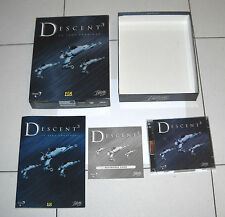 Gioco Pc Cd DESCENT 3 III La saga continua – Box OTTIMO 2 Cd Rom 1999
