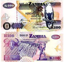 ZAMBIE Zambia Billet 100 Kwacha 2009 NEW NOUVEAU NEUF