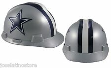 MSA V-Gard Cap Type Dallas Cowboys NFL Hard Hat Pin Type Suspension