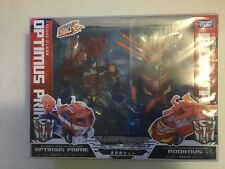 Transformers Animated Takara Sons of Cybertron Optimus Prime vs Rodimus