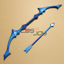League of Legends Ashe - The Frost Archer Bow and Arrow PVC Cosplay Prop -0505